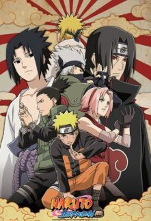 Naruto shippuuden màu