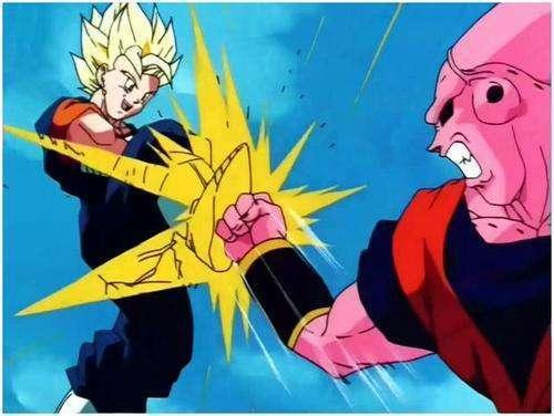 Kết quả hình ảnh cho vegetto vs super buu