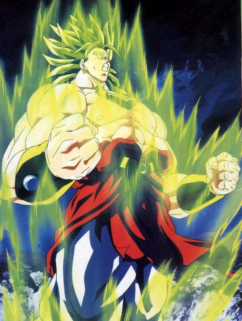 Broly dragon ball