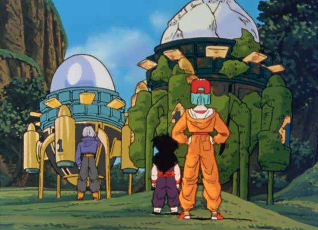 Time Machine Dragon Ball