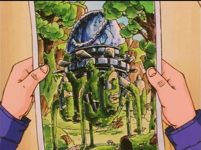 Cỗ máy thời gian Dragon Ball