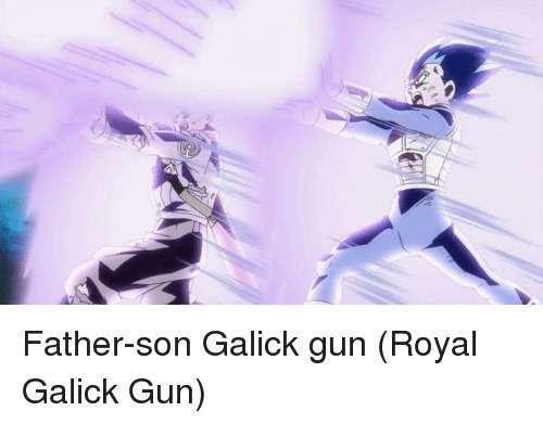 Kết quả hình ảnh cho father son galick gun