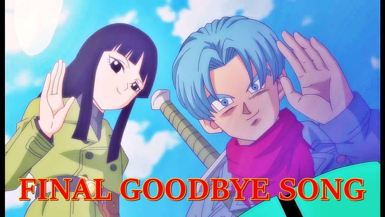 Kết quả hình ảnh cho future trunks says goodbye