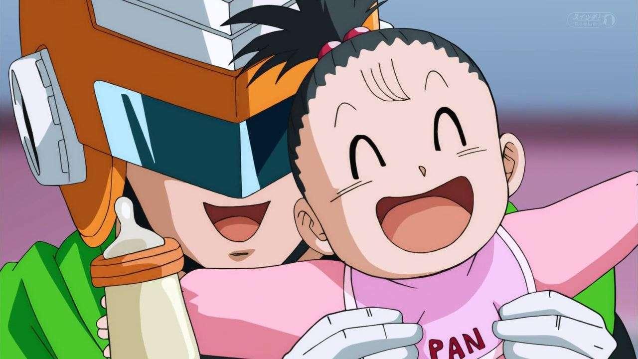 Kết quả hình ảnh cho great saiyaman vs pan