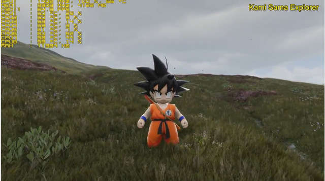 cách chơi game Dragon Ball 3D Unreal