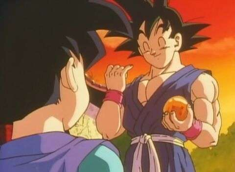 Goku jr vs Goku