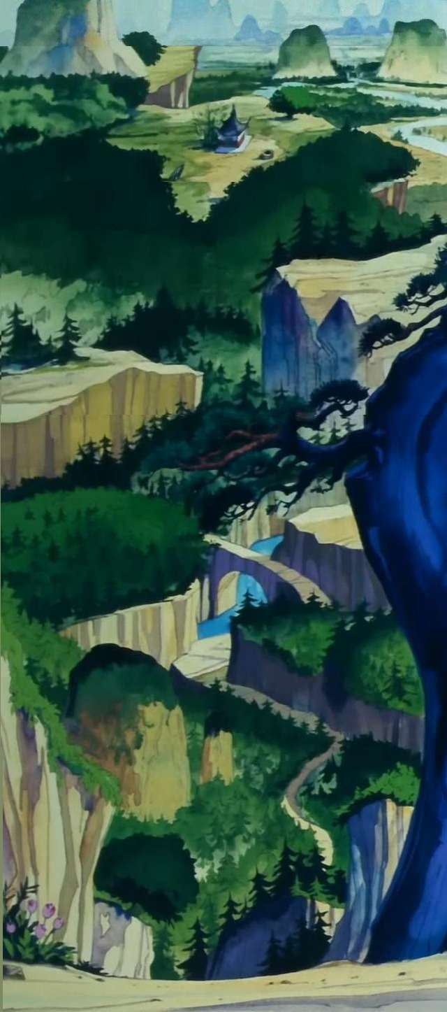 Nơi Goku và Bulma gặp nhau lần đầu