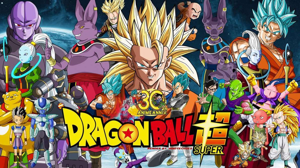 Dragon Ball Super 30th Anniversary Wallpaper # 1 by WindyEchoes