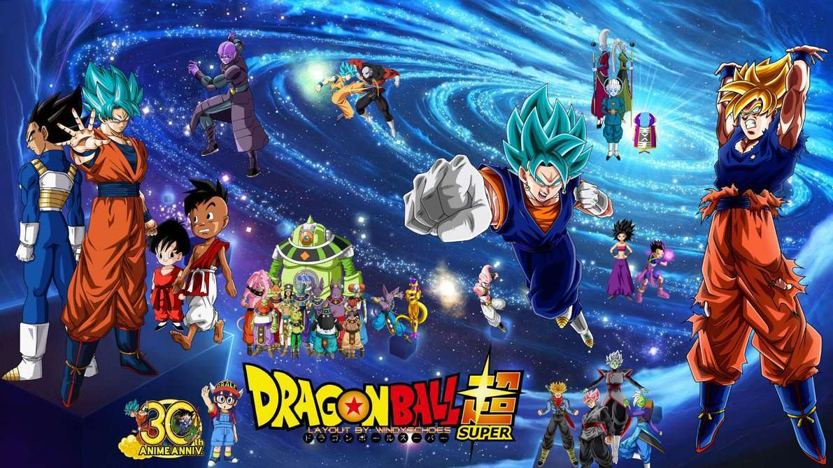 Dragon Ball Super Rebirth Wallpaper Next Gen by WindyEchoes