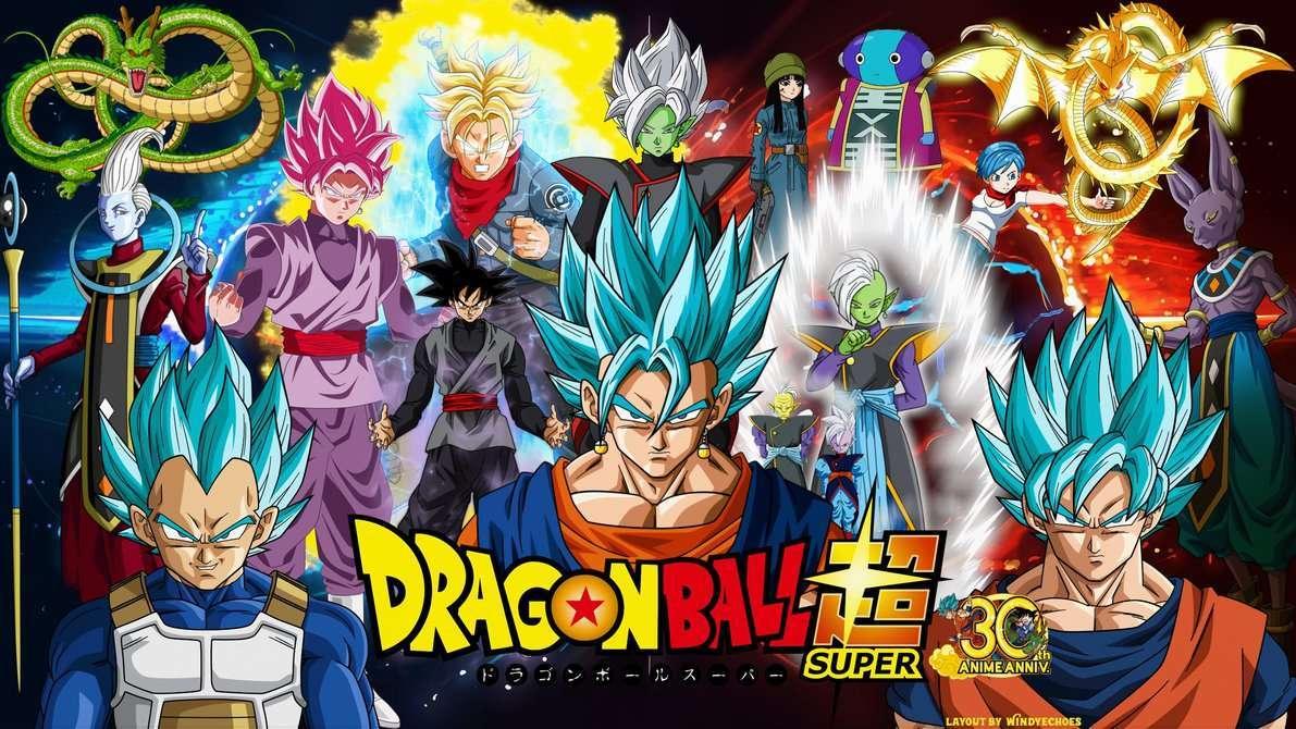 Dragon Ball Super Wallpaper - Vegito Blue by WindyEchoes