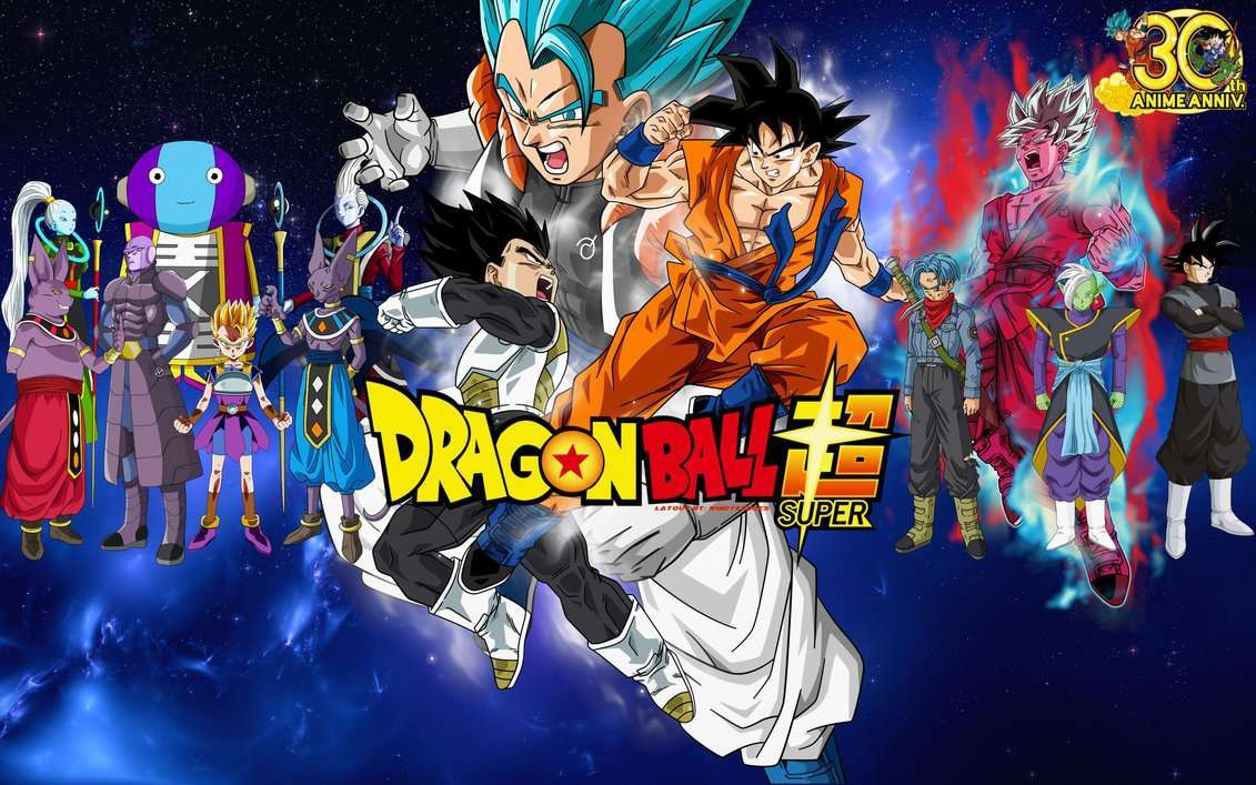 Dragon Ball Super Wallpaper Fusion by WindyEchoes