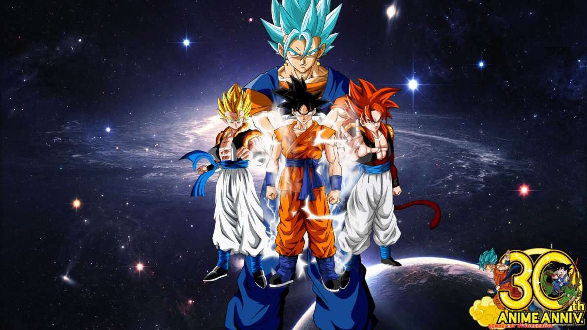 Ultimate Dragon Ball Alternate Fusions Wallpaper by WindyEchoes
