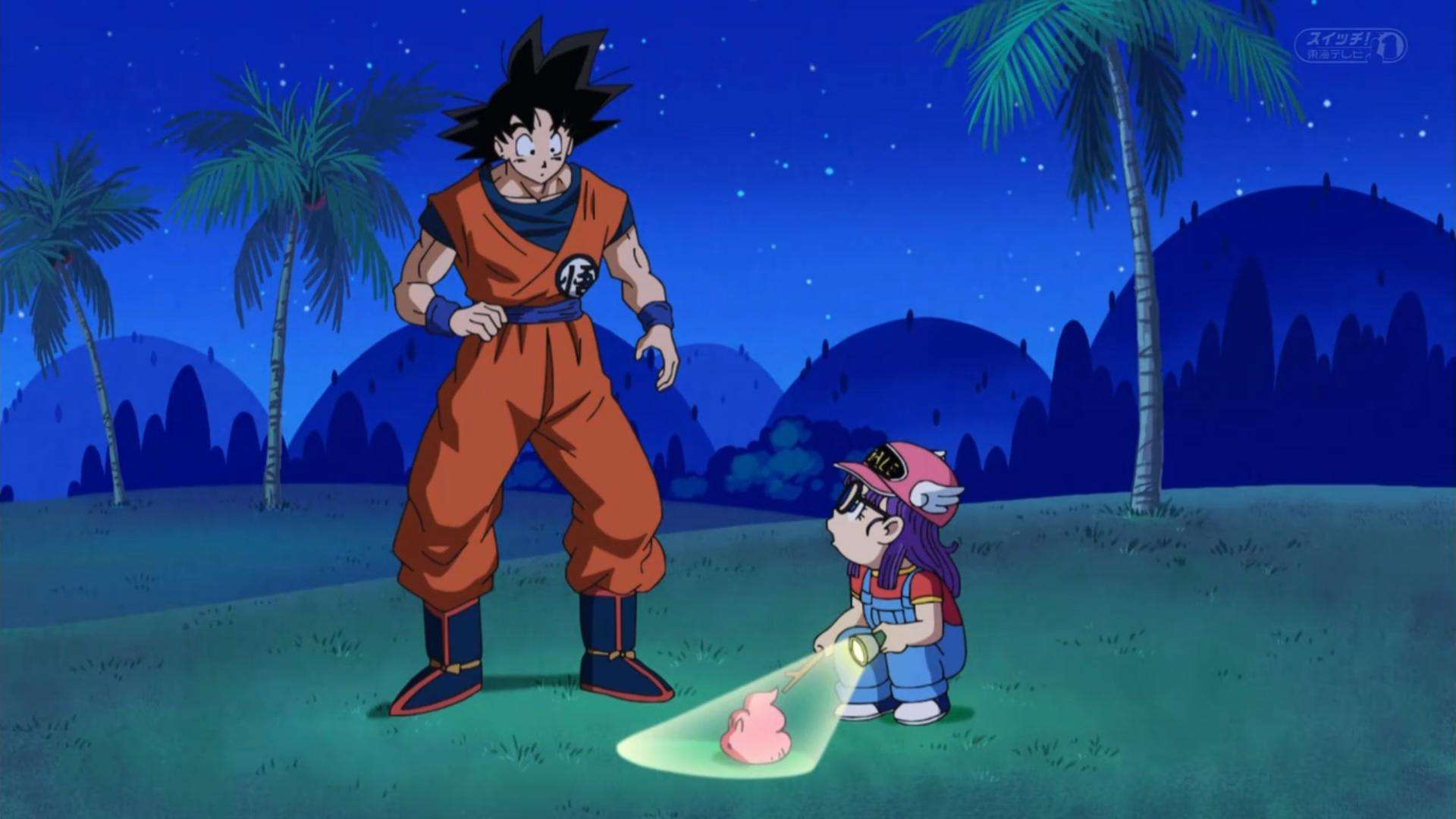 cứt dragon ball