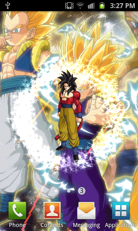 giao diện dragon ball mobile