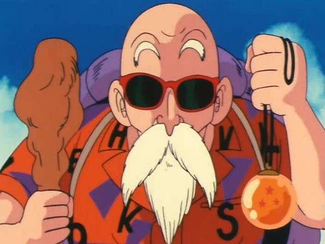 Kết quả hình ảnh cho Master Roshi dragon ball