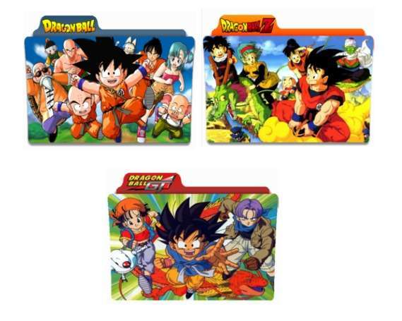 giao diện dragon ball pc