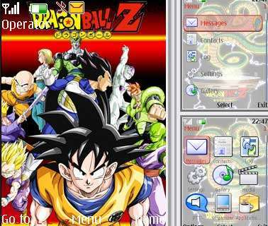 theme dragon ball điện thoại