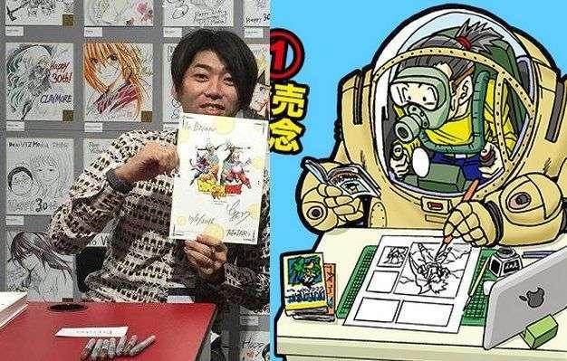 người vẽ truyện dragon ball super