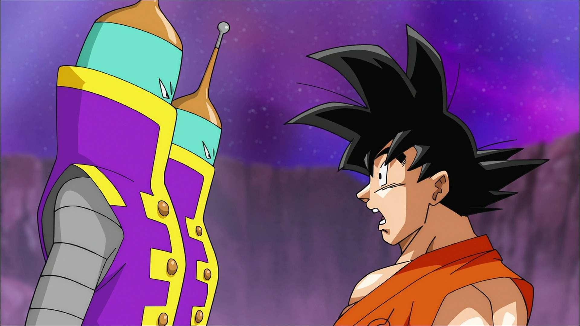 2 cận vệ rất tức giận trước sự vô lễ của Goku