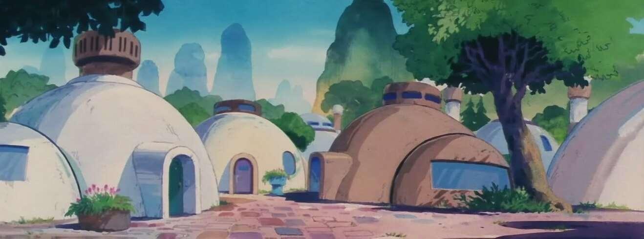 các thị trấn trong dragon ball