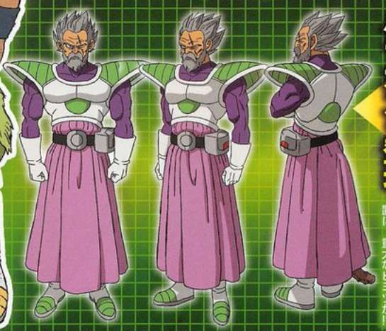 Paragus dragon ball super