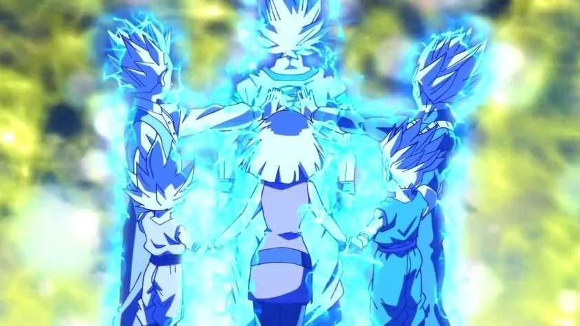 Vegeta lên Super Saiyan God như thế nào