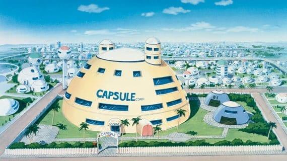 Thành phố có Capsule Corp