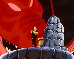 rồng đỏ dragon ball gt