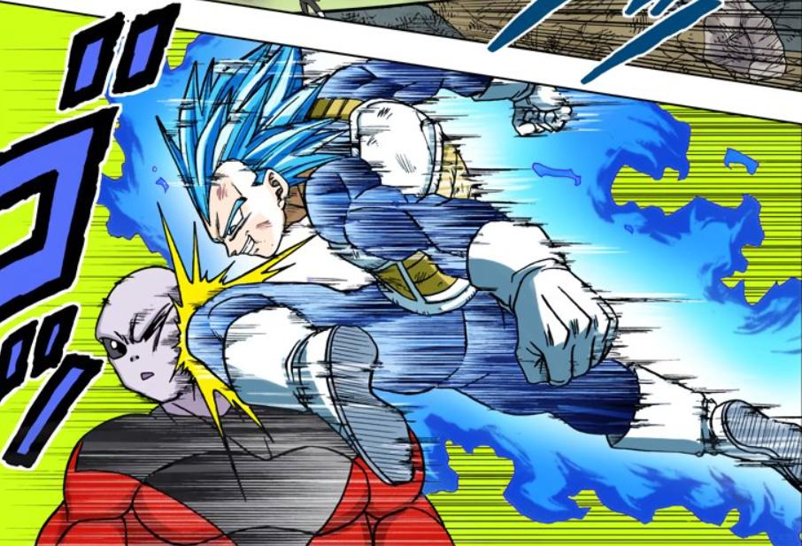Super Saiyan God SS Evolved Vegeta